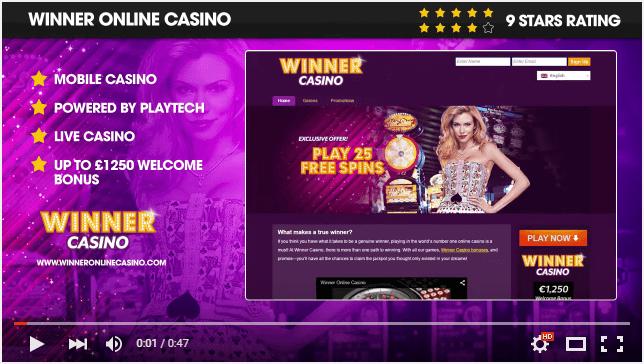 Winner Casino Video